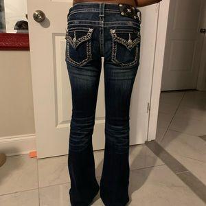 Bootcut/wide leg Miss Me jeans